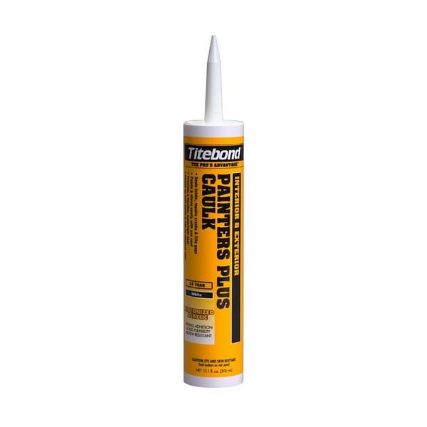 Titebond 8301 White Painter 39 S Plus Caulk 10oz Siggia Hardware