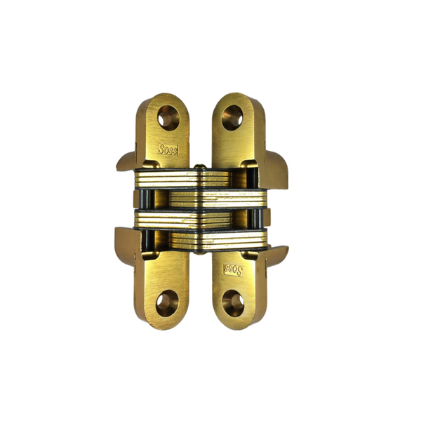 Soss 216us4 Model 216 Invisible Hinge Satin Brass