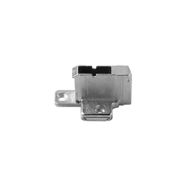 Blum 175 H9190.22 Nickel Clip Top Hinge Base Two Piece Wing Mounting Plate 18mm