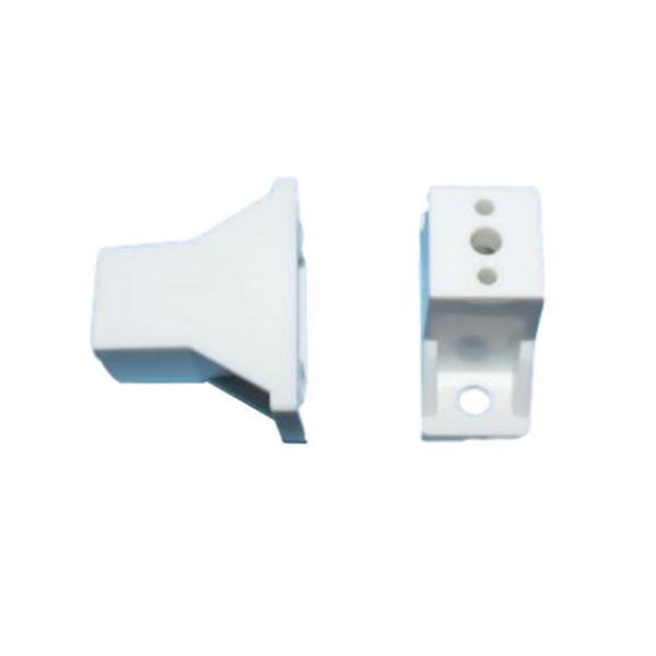 Bainbridge ″ nylon drawer slide spacer white